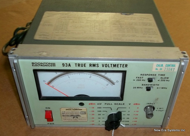 Used Test Equipment : Used test equipment for satellite operations